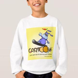 giggleBunny auf Cartoosh Snowboard Sweatshirt