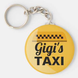 Gigis Taxi Keychain Schlüsselanhänger