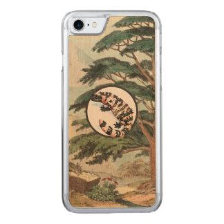Gila-Krustenechse in der natürlicher Carved iPhone 7 Hülle