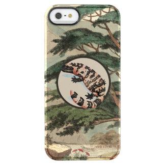 Gila-Krustenechse in der natürlicher Durchsichtige iPhone SE/5/5s Hülle