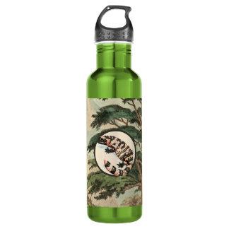 Gila-Krustenechse in der natürlicher Trinkflaschen
