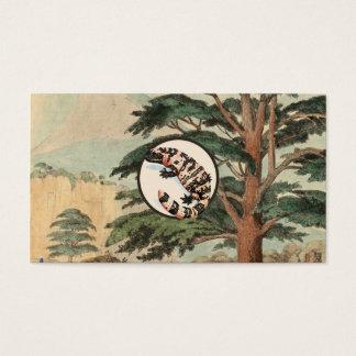 Gila-Krustenechse in der natürlicher Visitenkarten