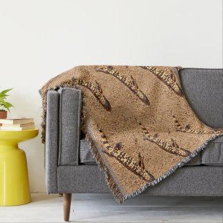 Gila-Krustenechse-kundenspezifische Wurfs-Decke Decke