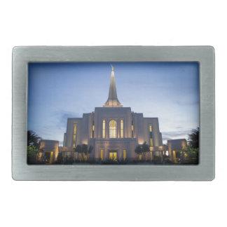 GIlbert Arizona LDS Tempel Rechteckige Gürtelschnalle