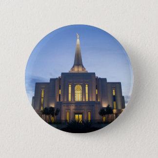 GIlbert Arizona LDS Tempel Runder Button 5,1 Cm