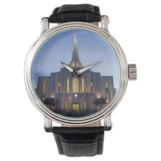 Gilbert Arizona LDS Tempel-Uhr Uhr