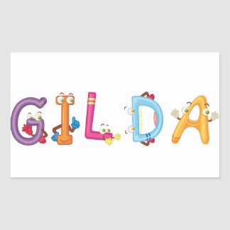 Gilda Aufkleber