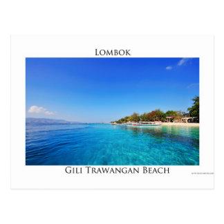 Gili Trawangan, Lombok Postkarte