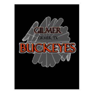 Gilmer Highschool Rosskastanien - Gilmer, TX Postkarte
