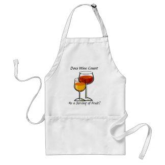 Gilt Wein als eine Umhüllung der Frucht? Schürze