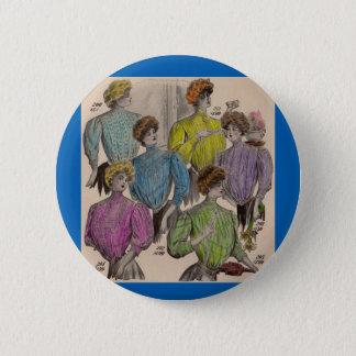 Gimbels Damen-Blusentaillen 1908 Nr. 1- Runder Button 5,1 Cm