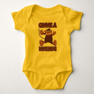Gimme ein Umarmungs-Umarmungs-Baby-Bodysuit Jersey Baby Strampler