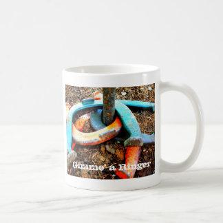 Gimme ein Wecker-Hufeisennicken-Geschenke Kaffeetasse