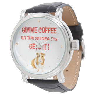 Gimme Kaffee! Armbanduhr