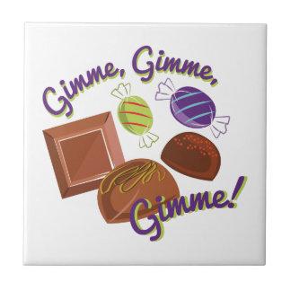 Gimme Süßigkeit Kleine Quadratische Fliese