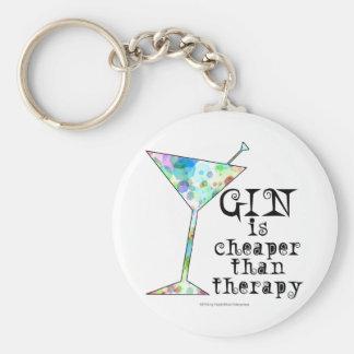 GIN ist billiger als Therapie ` Schlüsselanhänger