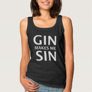 Gin lässt mich Sin Tank Top