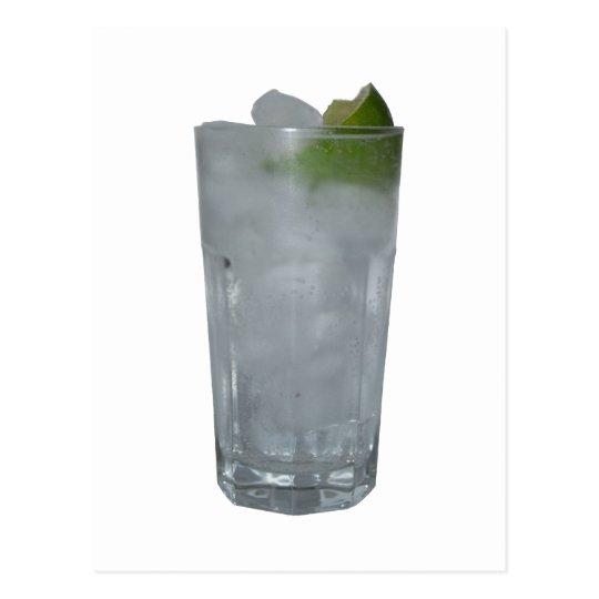 Gin Tonic Postkarte