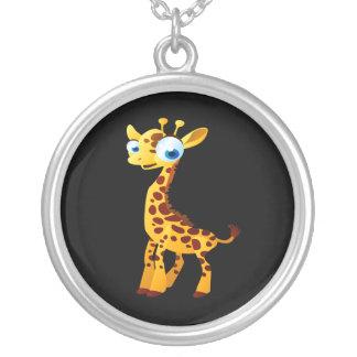 Gina die Giraffe Versilberte Kette