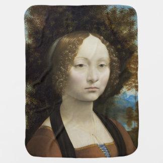 Ginevra de Benci durch Leonardo da Vinci Puckdecke