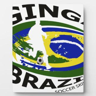 Ginga großes Logo transparent Fotoplatte