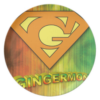 Gingermon Melaminteller