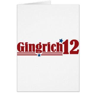 Gingrich 2012 karte