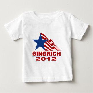 Gingrich für Präsidenten 2012 Waren Baby T-shirt