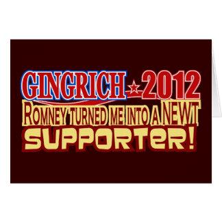 Gingrich Präsident 2012 gemacht zu Newt-Entwurf Karte