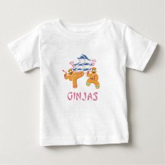 Ginjas Ninjas WeihnachtenNinja Lebkuchen Baby T-shirt