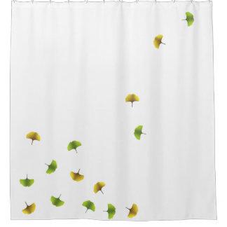 Ginko Blatt-Duschvorhang Duschvorhang