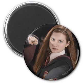 Ginny Weasley Runder Magnet 5,7 Cm