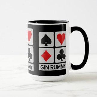 Ginrummy-Spieler-Tasse - wählen Sie Art u. Farbe Tasse