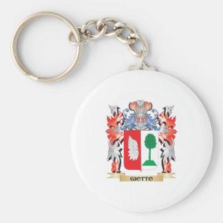 Giotto Wappen - Familienwappen Schlüsselanhänger