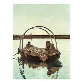 Giovanni Segantini - Ave Maria Postkarte