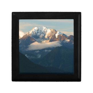 Gipfel-in-Morgenlicht Geschenkbox