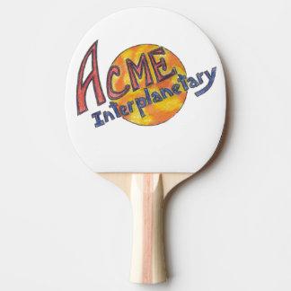 Gipfel-Interplanetarisches Klingeln-Pong Paddel Tischtennis Schläger