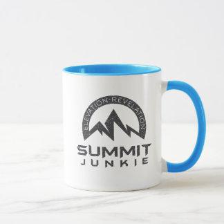 Gipfel-Junkie-Tasse Tasse