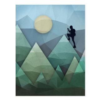 Gipfel Postkarte