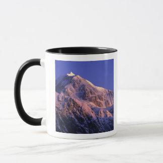 Gipfel von Denali der Höchstmount mckinley) an Tasse