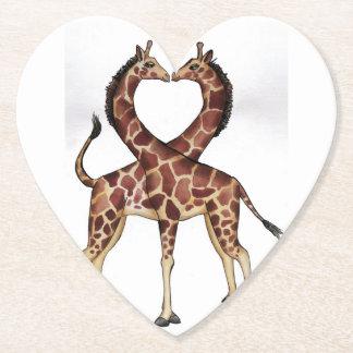Giraffe Afrika personifizieren der Untersetzer