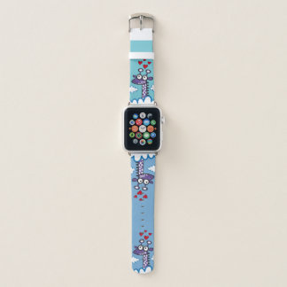 Giraffe in der Liebe Apple Watch Armband