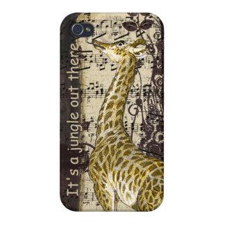 Giraffe ist es ein Dschungel dort draussen iPhone iPhone 4/4S Case