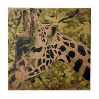 Giraffe Keramikfliese