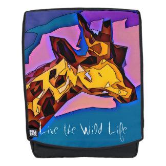 Giraffe - leben das wilde Leben/der Rucksack