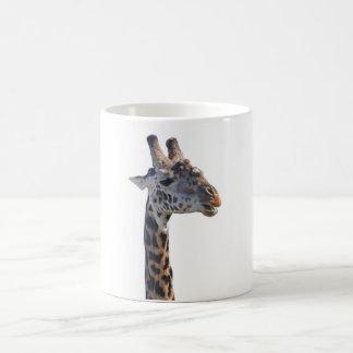 Giraffe sagt hallo verwandlungstasse