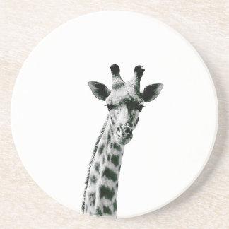 Giraffe Schwarzweiss Untersetzer