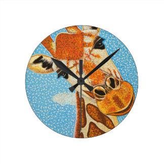 Giraffe Uhr