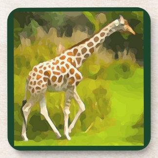 Giraffe von der Safari Getränkeuntersetzer
