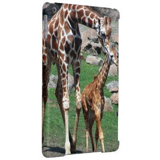 Giraffen-Afrika-Safari-Tier personifizieren